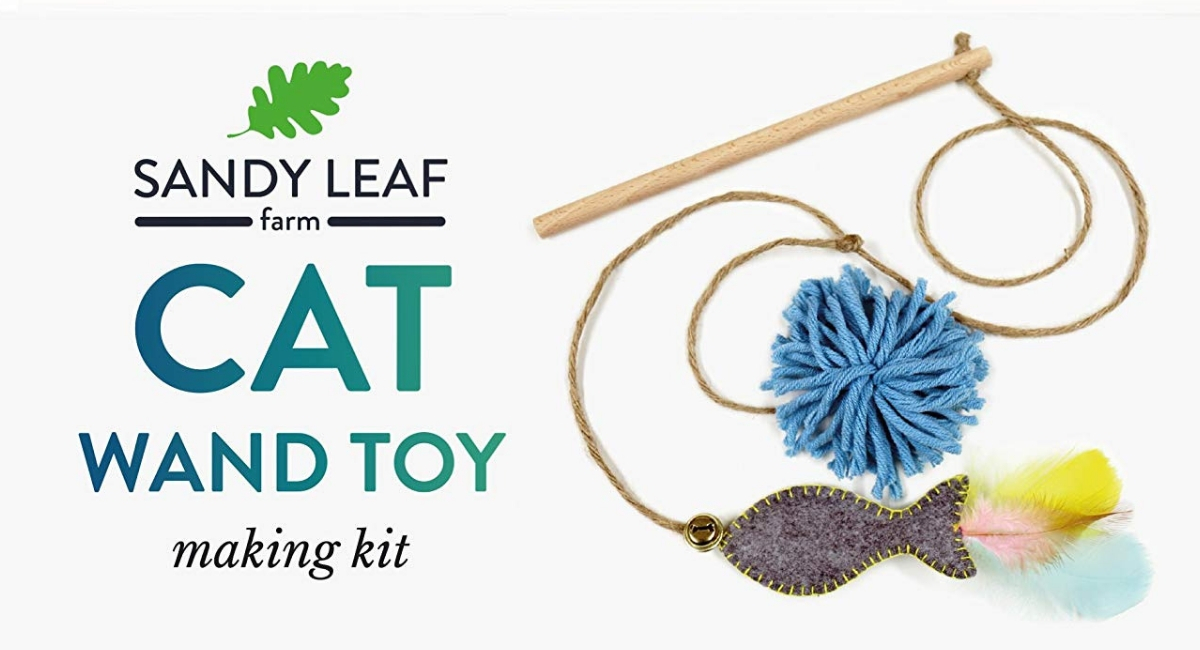 Review of the Cat want toy making kit