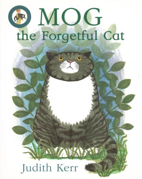 Mog the forgetful cat front cover by Judith Kerr